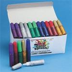 Color Splash!Mini Glitter Glue Pens  (pack of 72)