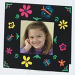 Color Splash!� 3-D Brite Frames Craft Kit (makes 24)