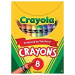 Crayola Regular Size Crayons, Box of 8 (pack of 12)