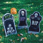 Gravestone Lawn Decoration (pack of 6)