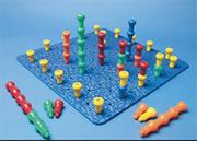 25 Hole Jumbo Hold-Tight Peg Board