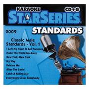 Classic Male Standard Karaoke CD