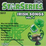 Karaoke Irish Songs Vol. 1 CD