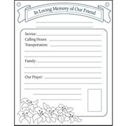 In Loving Memory Orientation Communication Posters