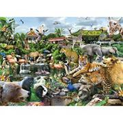 What A Zoo 300-Piece Puzzle
