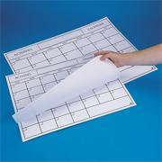 Paper Activity Calendar Pads, 22&quot;x28&quot;