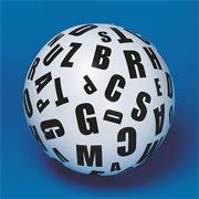 Toss 'n Talk-About� Letter Ball