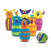 Melissa &amp; Doug Monster Bowling Set