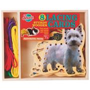 Pets Picture Lacing Cards (set of 8)
