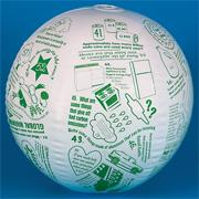 Go Green Toss 'n Talk-About� Ball