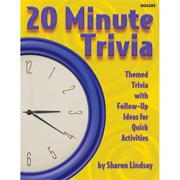 20 Minute Trivia Book