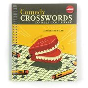 Comedy Crossword Puzzle Book