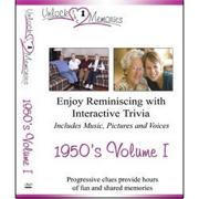 Unlock the Memories DVD, 1950s Volume 1