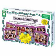 Listening Lotto Faces and Feelings Game