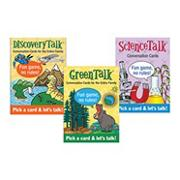 Table Talk Card Set: Green, Science and Discovery (set of 3)