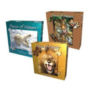 Polar Bear, Tiger and Lion Puzzle Set (set of 3)