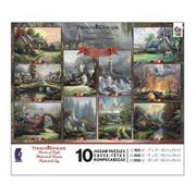 Thomas Kinkade 10-Puzzle Multipack