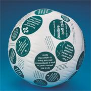 Toss 'n Talk-About� Positive Attitude Ball