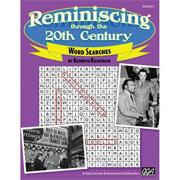Reminiscing Through The 20th Century Word Search Book