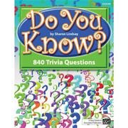 Do You Know? Trivia Book