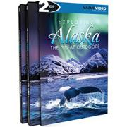 Exploring Alaska DVDs (set of 2)