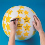 Create Your Own Toss 'n Talk-About� Ball