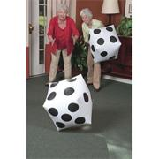 Jumbo Inflatable Dice (pair)