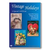 Vintage Holidays DVDs (set of 3)