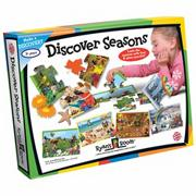 Discover Seasons Puzzle Set (set of 4)