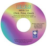 MDS 3.0 Click Print Quick Forms CD