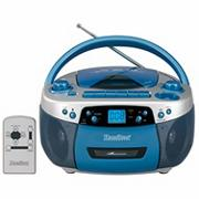 AM FM MP3 Cassette CD Player with USB Remote