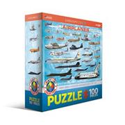 Airplanes Puzzle 100 Pieces