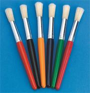 Stubby Paint Brush Pack  (pack of 6)
