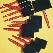 Foam Brushes Asst. Sizes  (pack of 12)