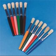 Stubby Paint Brush Pack  (set of 12)