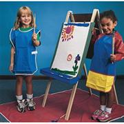 Heavy-Duty Double School Easel w/ Trays