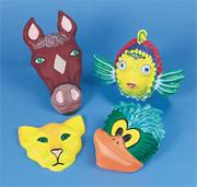 Animal Face Forms  (set of 5)