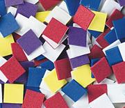 Sticky Foam Mosaic Squares 1/2&quot;  (pack of 1600)