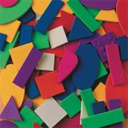 Color Splash! Foam Shapes w/ Adhesive, 1,100 pcs.