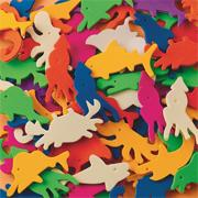 Color Splash!� Sealife Foam Shapes w/ Adhesive - 600 pcs.