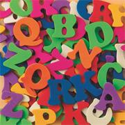 Color Splash!� Foam Shapes w/ Adhesive - ABCs, 1,000 pcs.