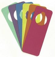 Foam Door Hangers  (pack of 6)