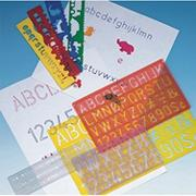 Lettering Guide Pack  (set of 4)