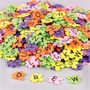 Foam Puzzle Alphabet Stickers  (pack of 1500)