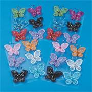 Nylon Butterflies (pack of 24)