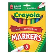Crayola Classic Markers  (box of 8)