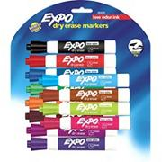 Expo� Broad Chisel Tip Dry Erase Markers (pack of 12)