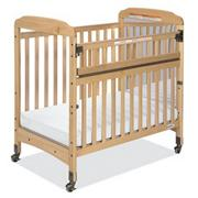 Serenity SafeReach Crib with Mirror and Clear Ends