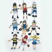 Beaded Sports Figures Craft Kit (makes 45)
