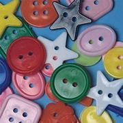 Assorted Shape Buttons (bag of 400)